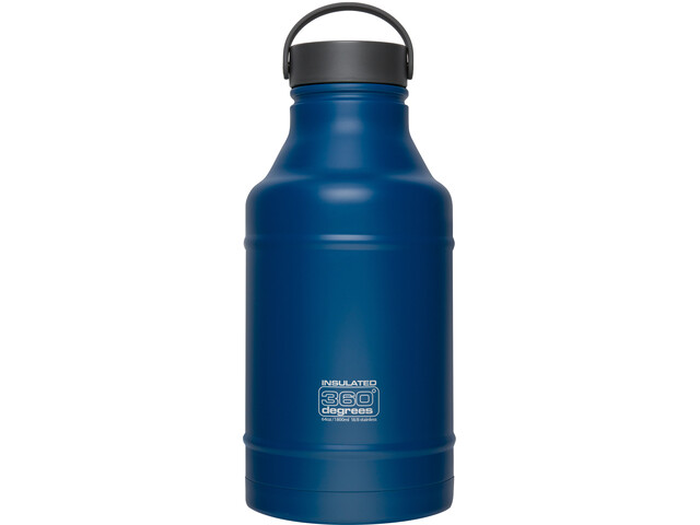 360° degrees Growler Drink Bottle 1800ml Dark Blue